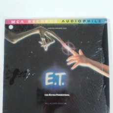 Discos de vinilo: E.T. THE EXTRATERRESTRIAL JOHN WILLIAMS ( 1982 MCA USA ) AUDIOPHILE STEVEN SPIELBERG ET . Lote 134125318