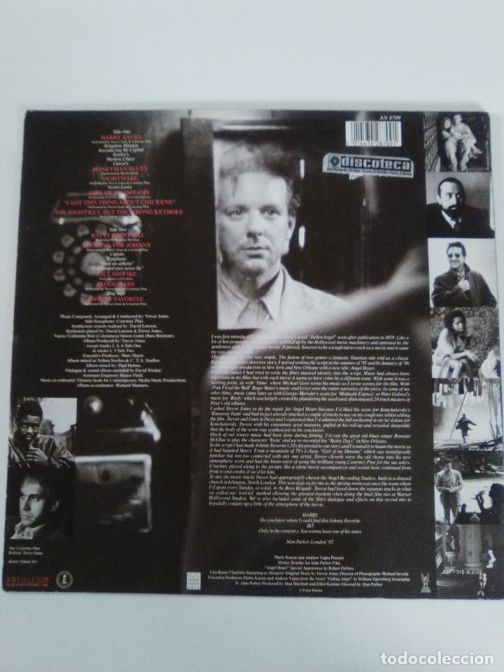 Discos de vinilo: ANGEL HEART EL CORAZON DEL ANGEL ( 1987 ISLAND ANTILLES UK ) TREVOR JONES ALAN PARKER - Foto 2 - 139778458