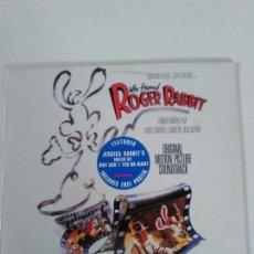 Discos de vinilo: ROGER RABBIT ( 1988 TOUCHSTONE HOLLAND ) ALAN SILVESTRI CONTIENE POSTER ROBERT ZEMECKIS. Lote 134125702