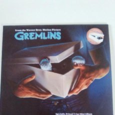 Discos de vinilo: GREMLINS ( 1984 GEFFEN ESPAÑA ) JERRY GOLDSMITH MICHAEL SEMBELLO PETER GABRIEL QUARTERFLASH. Lote 134125814