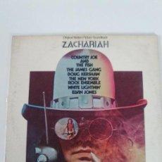 Discos de vinilo: ZACHARIAH ( 1970 DUNHILL USA ) COUNTRY JOE & THE FISH JAMES GANG DOUG KERSHAW NEW YORK ROCK ENSEMBLE. Lote 134125982