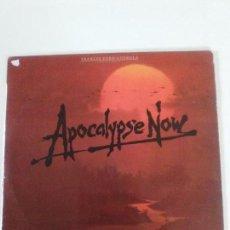 Discos de vinilo: APOCALYPSE NOW ( 1980 ELEKTRA ESPAÑA ) CARMINE FRANCIS FORD COPPOLA THE DOORS. Lote 134126234