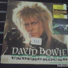 Discos de vinilo: DAVID BOWIE, UNDERGROUND . Lote 134129790