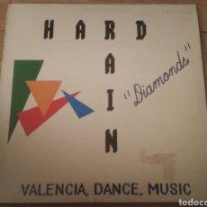 Discos de vinilo: HARD RAIN -DIAMONSDS-BOY RECORDS. Lote 134132135