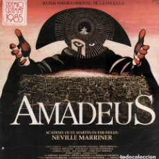 Discos de vinilo: AMADEUS - NEVILLE MARRINER - DOBLE LP - PORTADA ABIERTA - DE 1985 RF-6066 , BUEN ESTADO. Lote 134132362