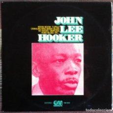 Discos de vinilo: JOHN LEE HOOKER - LP 1976 GRAMUSIC GM 506 EDICIÓN ESPAÑOLA,. Lote 134137354