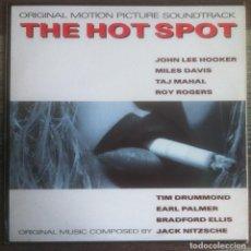 Discos de vinilo: THE HOT SPOT BSO - MILES DAVIS, JOHN LEE HOOKER - LP 1990 ANTILLES/ISLAND EDICIÓN ESPAÑOLA,. Lote 134137550