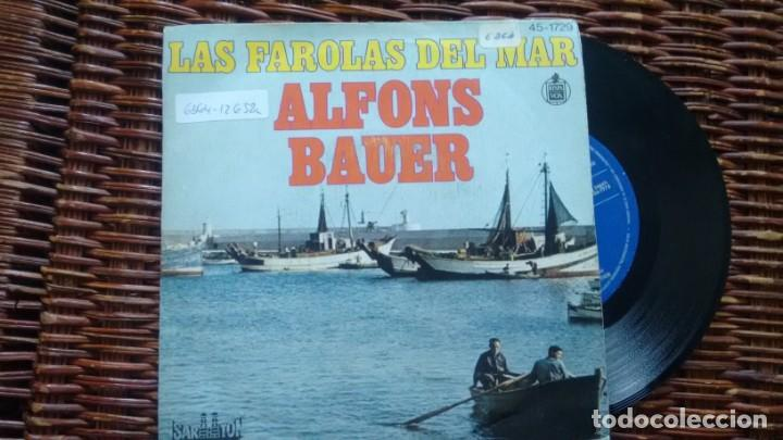 SINGLE (VINILO) DE ALFONS BAUER AÑOS 70 (Música - Discos de Vinilo - Maxi Singles - Orquestas)
