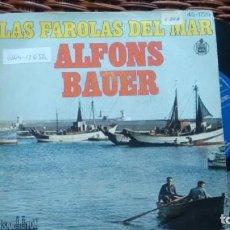 Discos de vinilo: SINGLE (VINILO) DE ALFONS BAUER AÑOS 70. Lote 134141710