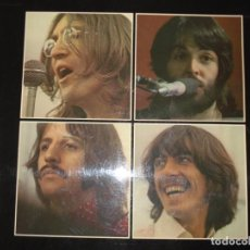 Discos de vinilo: THE BEATLES LET IT BE BOX UK 1970 RED APPLE - MATRIX YEX 773 2U / YEX 774 2U. Lote 134145490