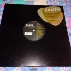 Discos de vinilo: ELVIS PRESLEY RUBBERNECKIN REMIXES MAXI SINGLE VINILO PROMO 2003 EUROPA CONTIENE 3 TEMAS. Lote 134162325