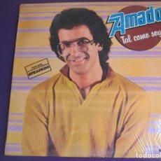Discos de vinilo: AMADO LP ACTIV 1980 - TAL COMO SOY - PRECINTADO - DISCO FUNK ELECTRONICA - LOS DIABLOS. Lote 134164230