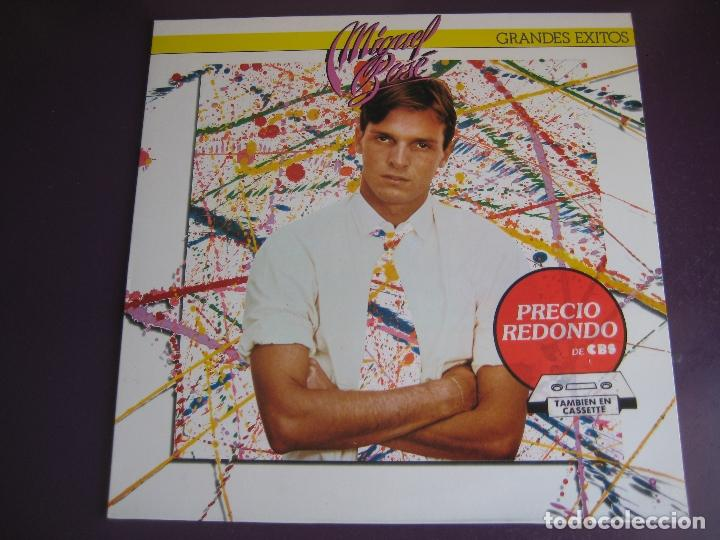 MIGUEL BOSE LP CBS 1988 - GRANDES EXITOS - FANS - SIN ESTRENAR - LINDA - DON DIABLO - ANNA - SEVILLA (Música - Discos - LP Vinilo - Solistas Españoles de los 70 a la actualidad)
