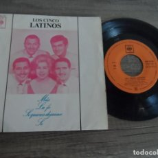 Discos de vinilo: LOS 5 CINCO LATINOS - MAS + LA FE +2. Lote 134197554