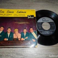 Discos de vinilo: LOS CINCO LATINOS - ERES MI ESTRELLA +3. Lote 134197698
