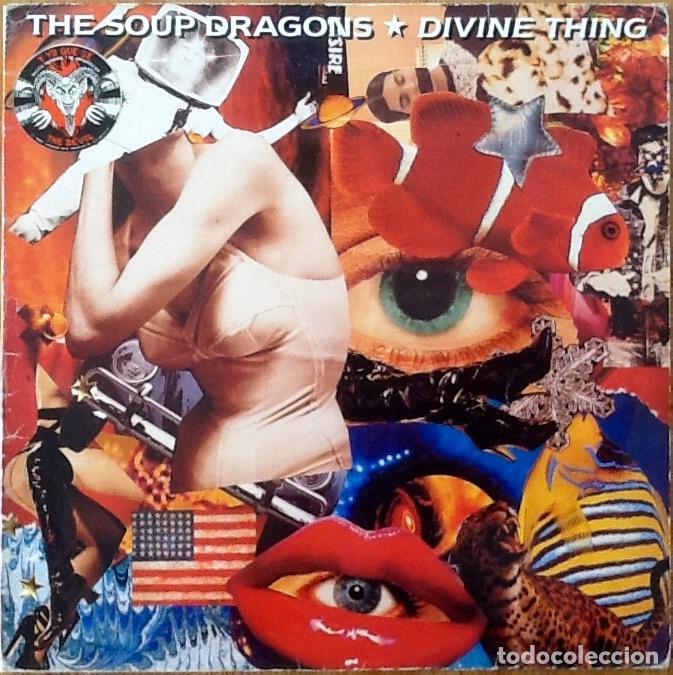 THE SOUP DRAGONS : DIVINE THING [UK 1992] 12' (Música - Discos de Vinilo - Maxi Singles - Pop - Rock Internacional de los 90 a la actualidad)