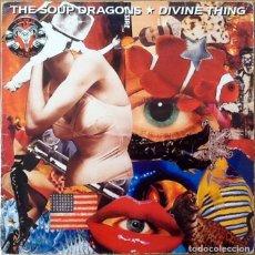 Discos de vinilo: THE SOUP DRAGONS : DIVINE THING [UK 1992] 12'. Lote 134211542