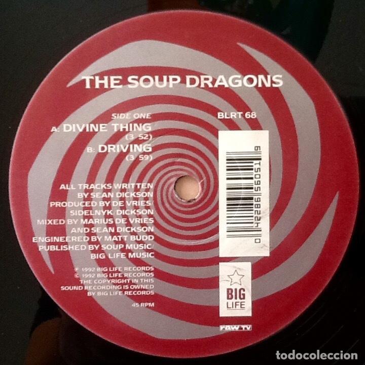 Discos de vinilo: THE SOUP DRAGONS : DIVINE THING [UK 1992] 12 - Foto 3 - 134211542