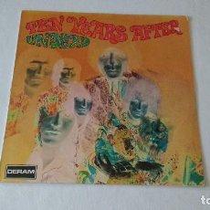 Discos de vinilo: ALBUM DE LA BANDA BRITANICA DE BLUES Y ROCK, TEN YEARS AFTER . Lote 134213066
