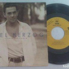 Discos de vinilo: MIKEL HERZOG CIENTO POR CIENTO PROMOCIONAL 1992. Lote 134215762