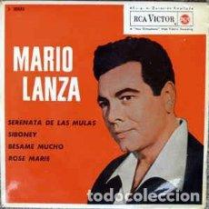 Discos de vinilo: MARIO LANZA – SERENATA DE LAS MULAS (ESPAÑA,1962). Lote 134224726
