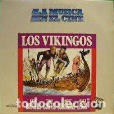 Discos de vinilo: MARIO NASCIMBENE ?– LOS VIKINGOS (THE VIKINGS) (BANDA SONORA ORIGINAL DE LA PELÍCULA) [ESPAÑA,1982]. Lote 134224962