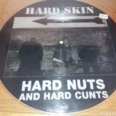 Discos de vinilo: HARD SKIN - HARD NUTS AND HARD CUNTS. PICTURE DISC LP VINILO EDICIÓN LIMITADA. 1996. USA. Lote 134226919