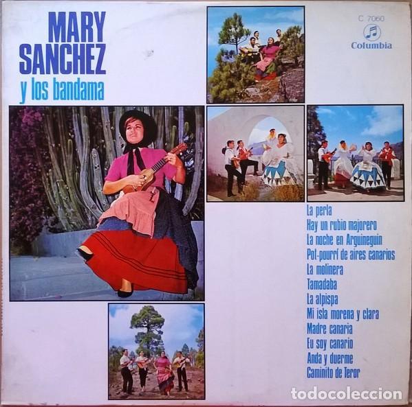 MARY SANCHEZ Y LOS BANDAMA – MARY SANCHEZ Y LOS BANDAMA (ESPAÑA, 1970) (Música - Discos - LP Vinilo - Étnicas y Músicas del Mundo)