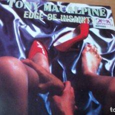 Discos de vinilo: TONY MACALPINE EDGE OF INSANITY LP. Lote 204161716