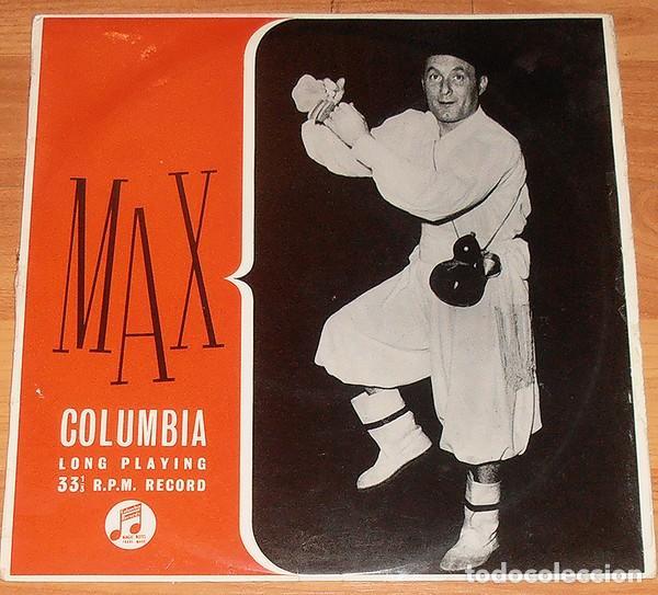 MAX – SINAL DA CRUZ (UK, 1956. VINYL, 10 PULGADAS, 33 RPM, ALBU) (Música - Discos - LP Vinilo - Étnicas y Músicas del Mundo)