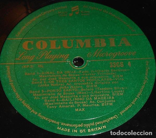 Discos de vinilo: Max – Sinal Da Cruz (UK, 1956. Vinyl, 10 pulgadas, 33 RPM, Albu) - Foto 3 - 134233734