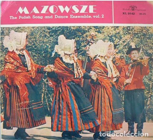 MAZOWSZE ?– THE POLISH SONG AND DANCE ENSEMBLE, VOL. 2 (POLAND, 1965) (Música - Discos - LP Vinilo - Étnicas y Músicas del Mundo)