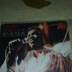 Discos de vinilo: SINGLE WILSON PICKETT - SUGAR SUGAR. ATLANTIC 1970. BUEN ESTADO. Lote 134236654