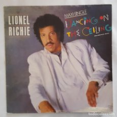 Discos de vinilo: MAXI - LIONEL RICHIE - DANCING ON THE CEILING / LOVE WILL FIND A WAY - MOTOWN SPTO 60262 - 1986. Lote 134242238