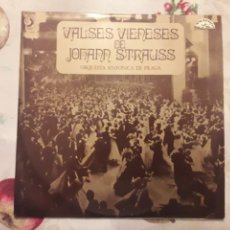 Discos de vinilo: VALSES VIENESES. JOHANN STRAUSS. VINILO.. Lote 134243199