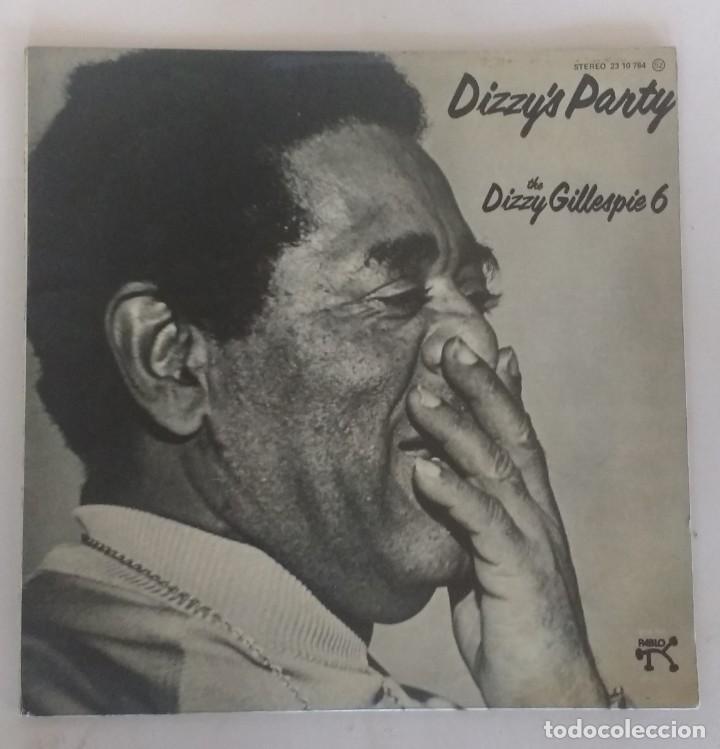 DIZZY'S PARTY - THE DIZZY GILLESPIE 6 (Música - Discos - LP Vinilo - Jazz, Jazz-Rock, Blues y R&B)