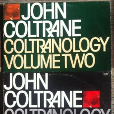 Discos de vinilo: JOHN COLTRANE - CONLTRANOLOGY VOLUME ONE Y TWO - 2 LP AFFINITTY/AUVI 1979/1980 EDICIÓN ESPAÑOLA,. Lote 134244534