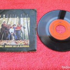 Discos de vinilo: LA COMPAÑÍA - EL FIRULI - SINGLE CBS 1971. Lote 134245386