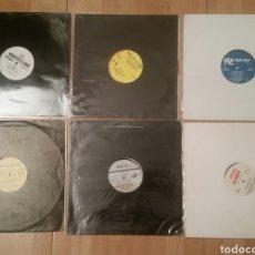 Discos de vinilo: TECHNO POP 80 Y 90 -6 VINILOS CON CARATULAS GENERICAS. Lote 134245845