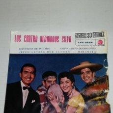 Discos de vinilo: LOS CUATRO HERMANOS SILVA EP RECUERDOS DE ICAPARI + 3. Lote 134257074