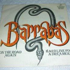 Discos de vinilo: BARRABAS – ON THE ROAD AGAIN - SINGLE 1981. Lote 134258622