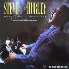 Discos de vinilo: STEVE SILK HURLEY- WORK IT OUT COMPILATION - LP EUROPE 1989 (HOUSE). Lote 134264126