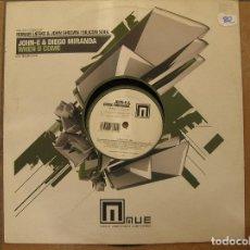 Discos de vinilo: JOHN-E & DIEGO MIRANDA – WHEN U COME - MUE RECORDS 2005 - MAXI - P LS -. Lote 134271342