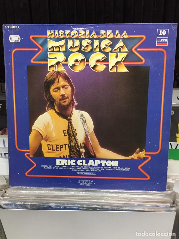 HISTORIA DE LA MÚSICA ROCK 10. ERIC CLAPTON (Música - Discos - LP Vinilo - Pop - Rock - Extranjero de los 70)
