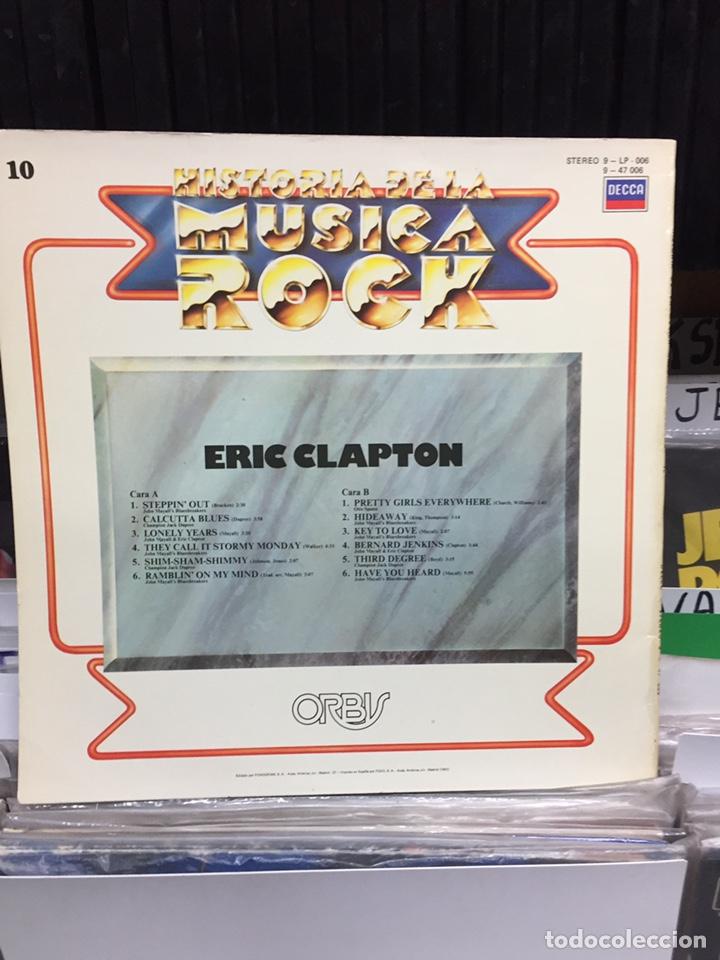 Discos de vinilo: Historia de la Música Rock 10. Eric Clapton - Foto 2 - 134272266