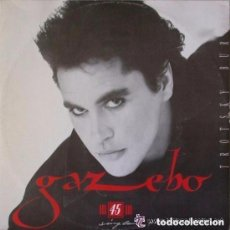Discos de vinilo: GAZEBO, TROTSKY BURGER, MAXI-SINGLE SANNI 1986. Lote 134273750