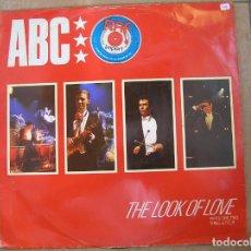 Discos de vinilo: ABC – THE LOOK OF LOVE (PARTS ONE, TWO, THREE & FOUR) - NEUTRON RECORDS 1982 - MAXI - P LS. Lote 134277962