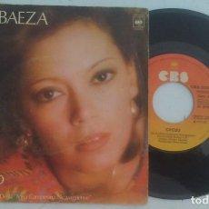 Discos de vinilo: ELSA BAEZA CREDO+1 SINGLE CBS 1977. Lote 134300650