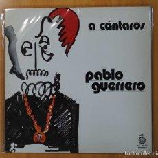 Disques de vinyle: PABLO GUERRERO - A CANTAROS - GATEFOLD - LP. Lote 134312650