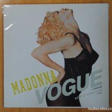 Discos de vinilo: MADONNA - VOGUE - MAXI. Lote 134313745